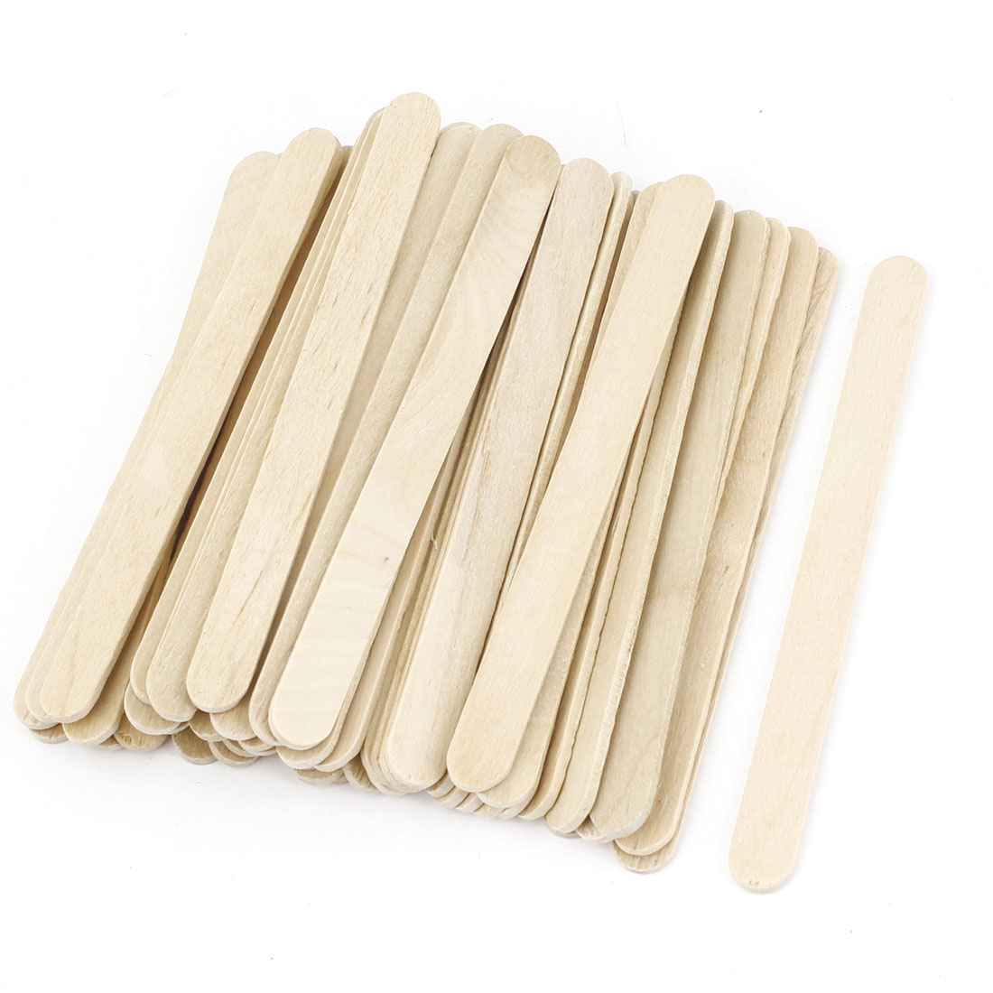 51PCS Wooden Cosmetic Tool Mask Mixing Stick for Lady