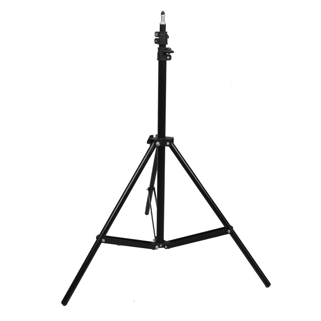 190cm Max. Height Telescoping 3 Sections Photo Studio Tripod Light Stand Black