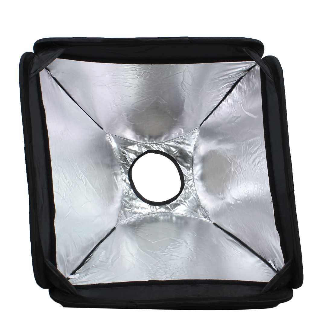Black Flash Soft Box Diffuser 40cm x 40cm for Digital SLR Camera