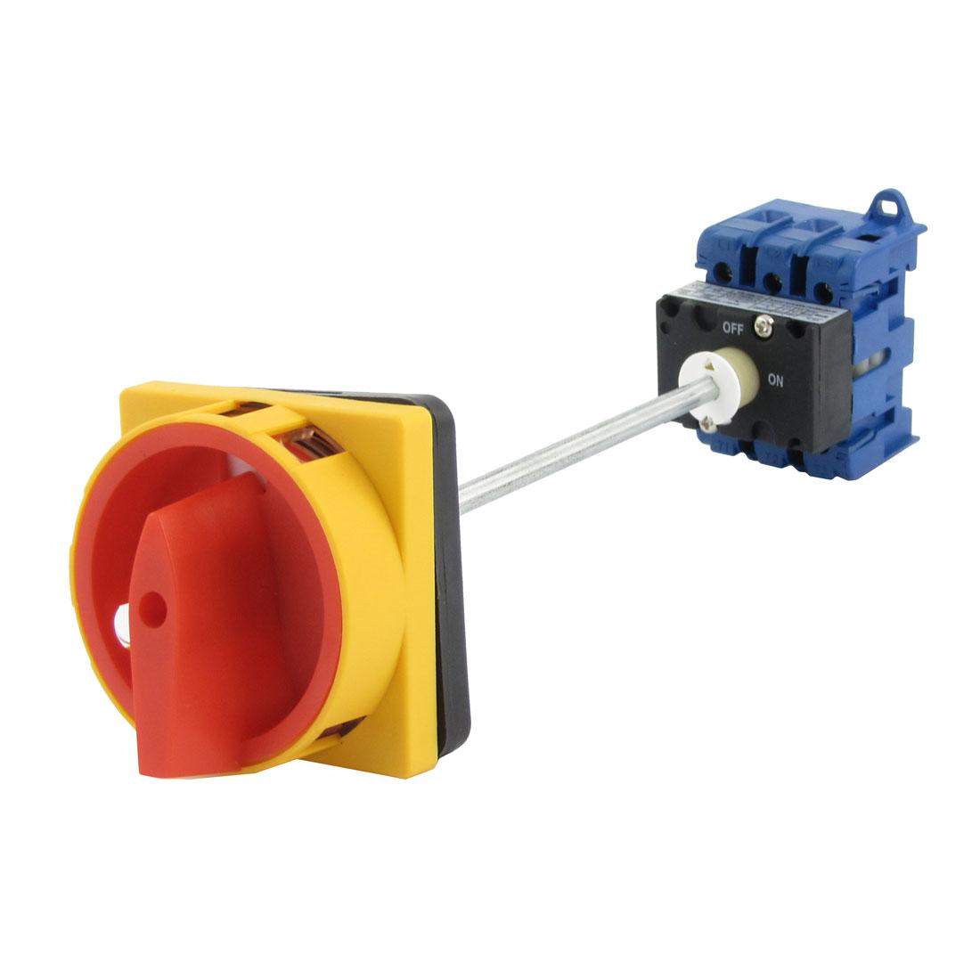 AC380V 690V AC 240V 440V ON/OFF Rotary Cam Universal Changeover Switch
