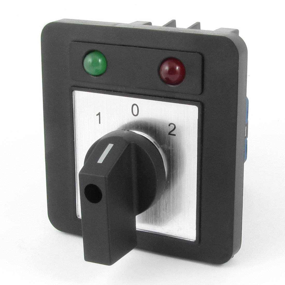 Ui 660V Ith 20A 3 Position 12 Terminals Locking Rotary Cam Changeover Switch