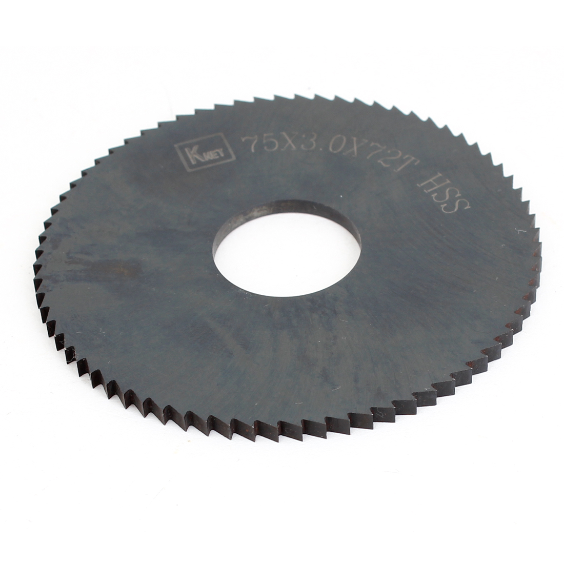 HSS 72 Teeth 75mm x 3mm x 22mm Slitting Saw Blade Replacement