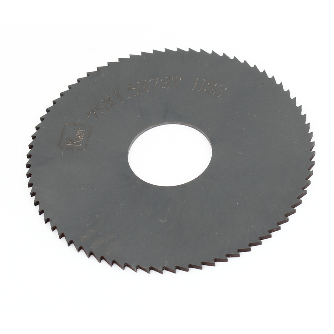 HSS 72 Teeth 75mm x 1.5mm x 22mm Slitting Saw Blade Spare Part