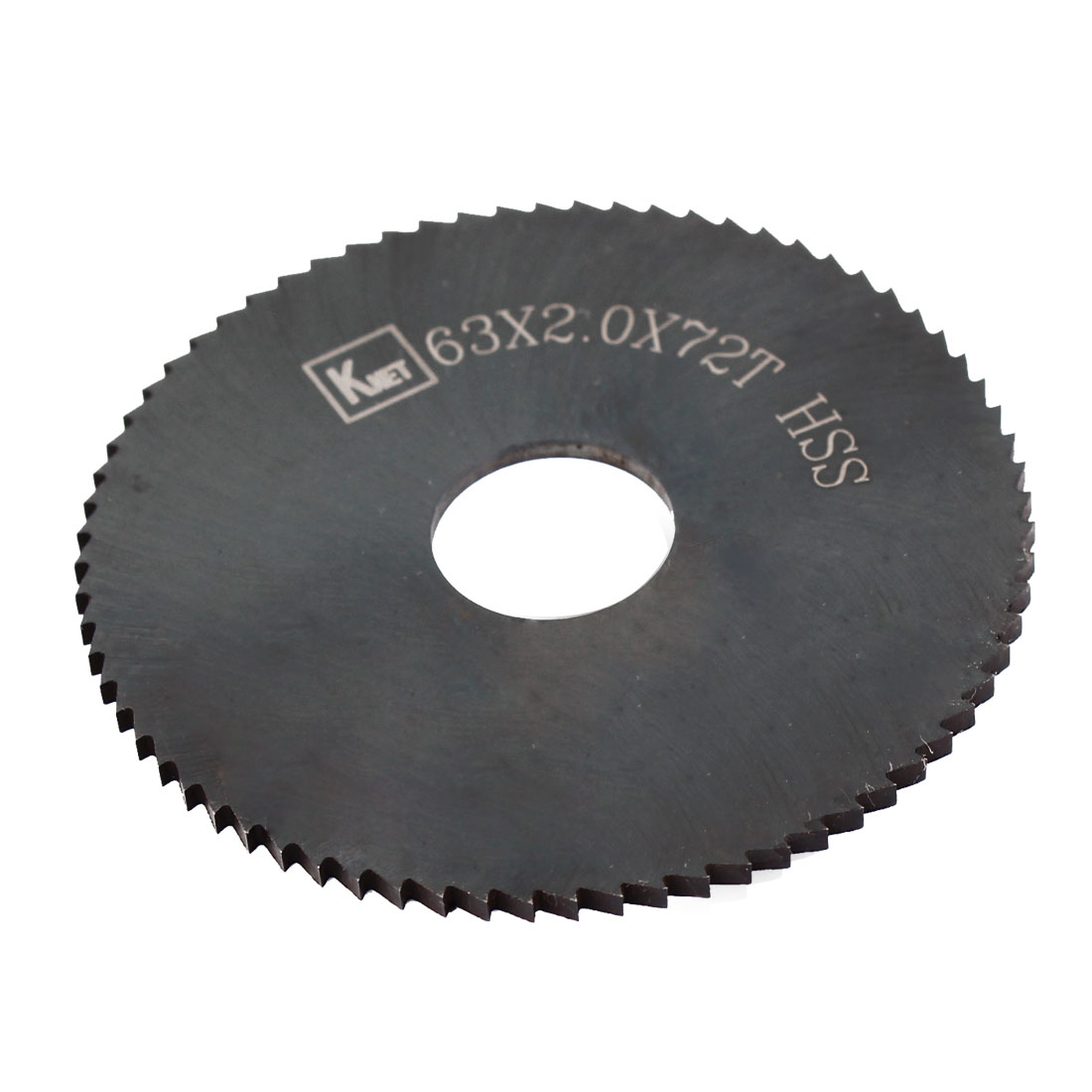 HSS 72 Teeth 63mm x 2mm x 16mm Slitting Saw Spare Part
