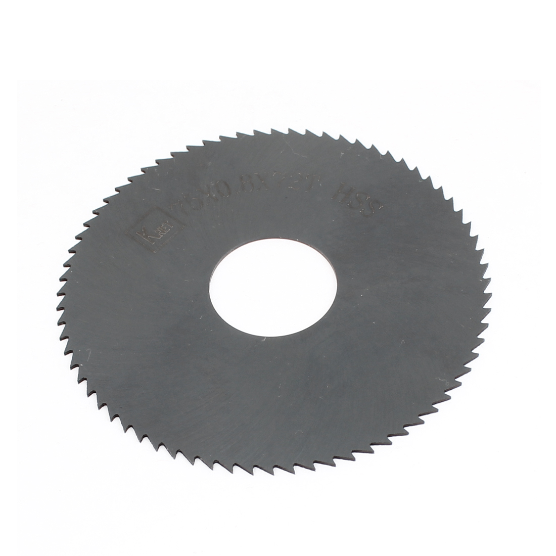HSS 72 Teeth 75mm x 0.8mm x 16mm Slitting Saw Blade Spare Part