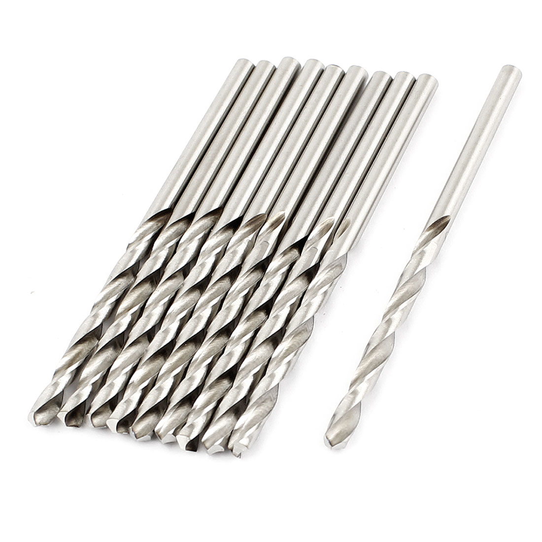 10 Pcs 33mm Length 2.8mm Dia Marable HSS Twist Drilling Drill Bit