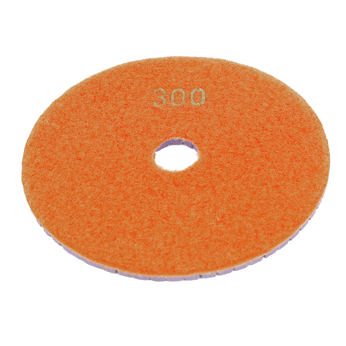 Marble Stone 300 Grit Wet Dry Diamond Buffer Polishing Pad Disc Orange