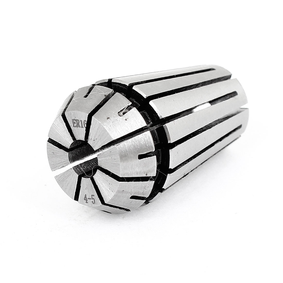 Machinery Stainless Steel 5-4mm ER16 Spring Collet Chuck Silver Tone