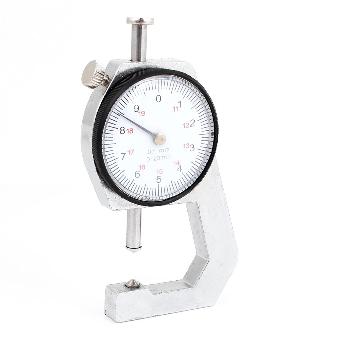 0.1mm Precision Dial Thickness Gauge Meter Measure Tool 0 to 10mm