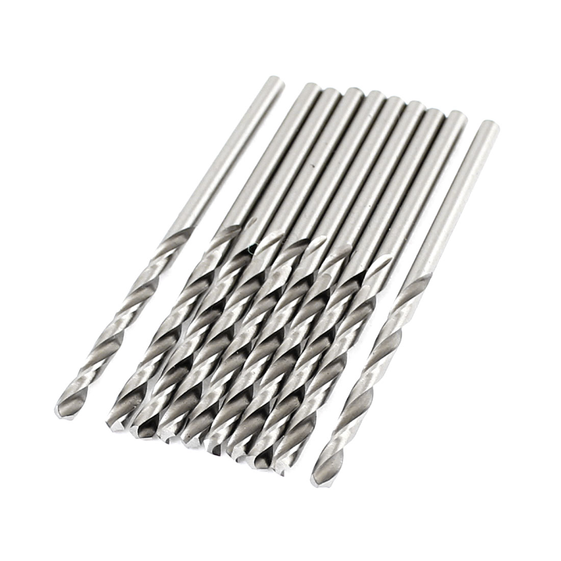 10 x HSS High Speed Steel 2.6mm Diameter Tip Straight Shank Twist Drill Bits