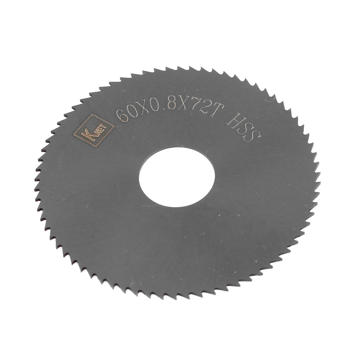 HSS 72 Teeth 60mm x 0.8mm x 16mm Slitting Saw Cutting Tool