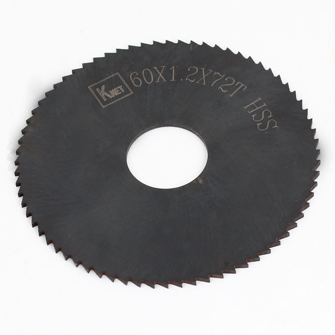 HSS 72 Teeth 60mm x 1.2mm x 16mm Slitting Saw Black