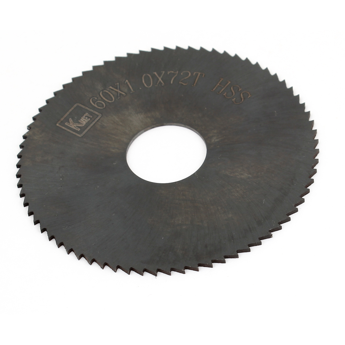 HSS 72 Teeth 60mm x 1mm x 16mm Slitting Saw Spare Part