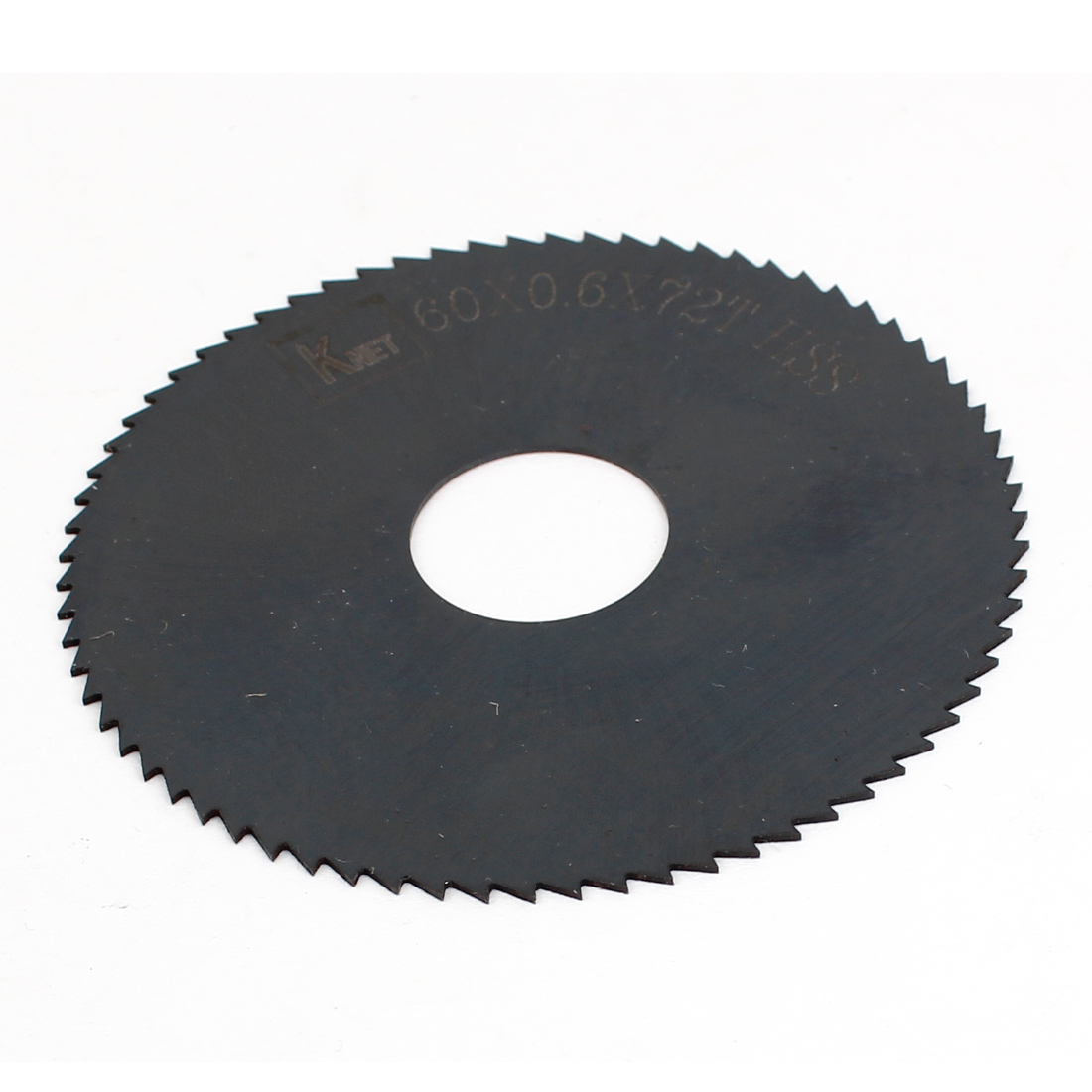 HSS 72 Teeth 60mm x 0.6mm x 16mm Slitting Saw Cutting Tool