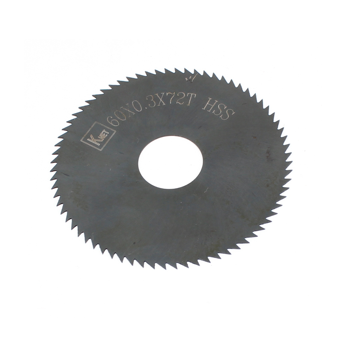 HSS 72 Teeth 60mm x 0.3mm x 16mm Slitting Saw Cutting Tool