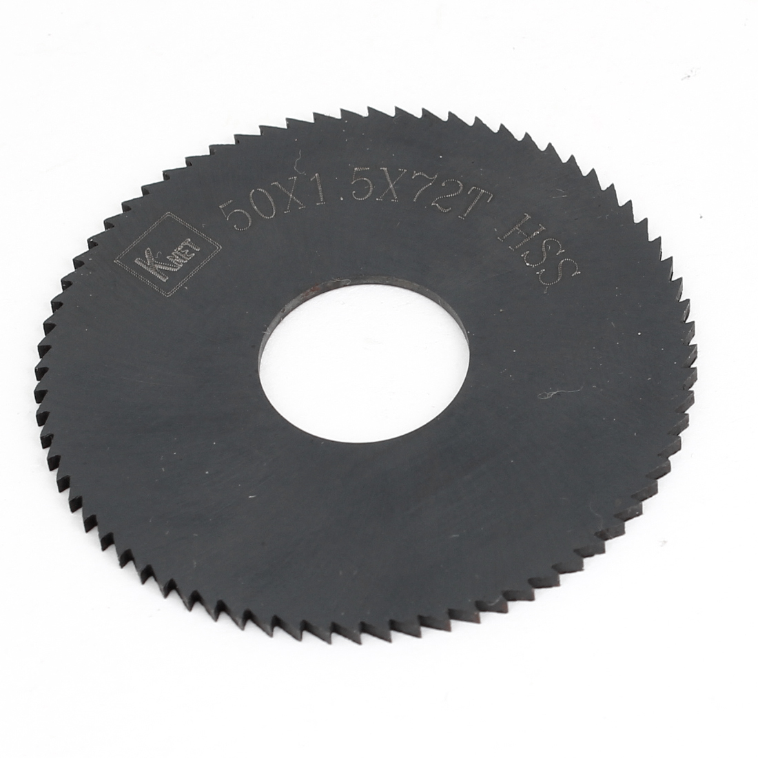 HSS 72 Teeth 50mm x 1.5mm x 16mm Slitting Saw Black