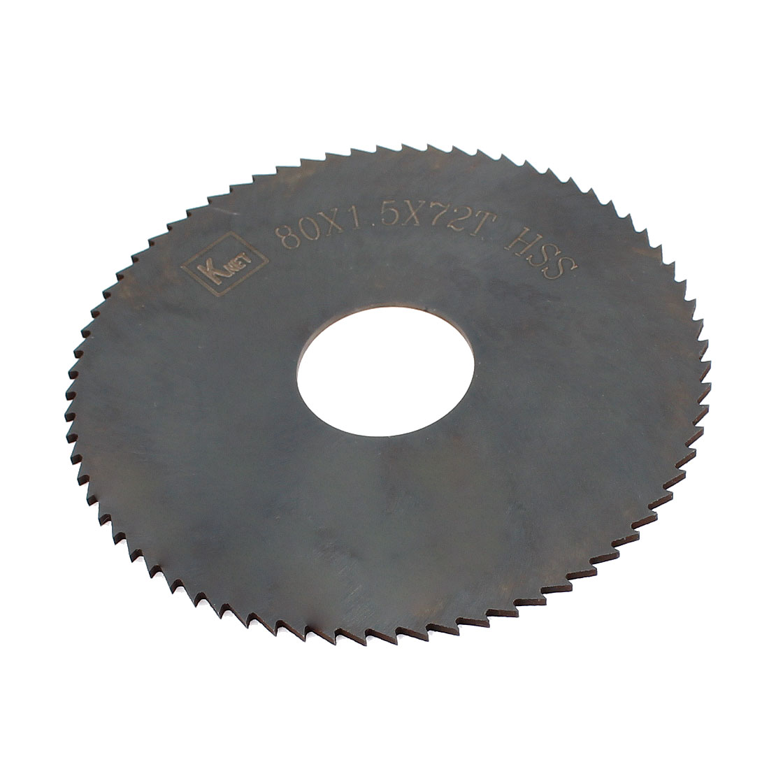 HSS 72 Teeth 80mm x 1.5mm x 22mm Slitting Saw Blade Spare Part
