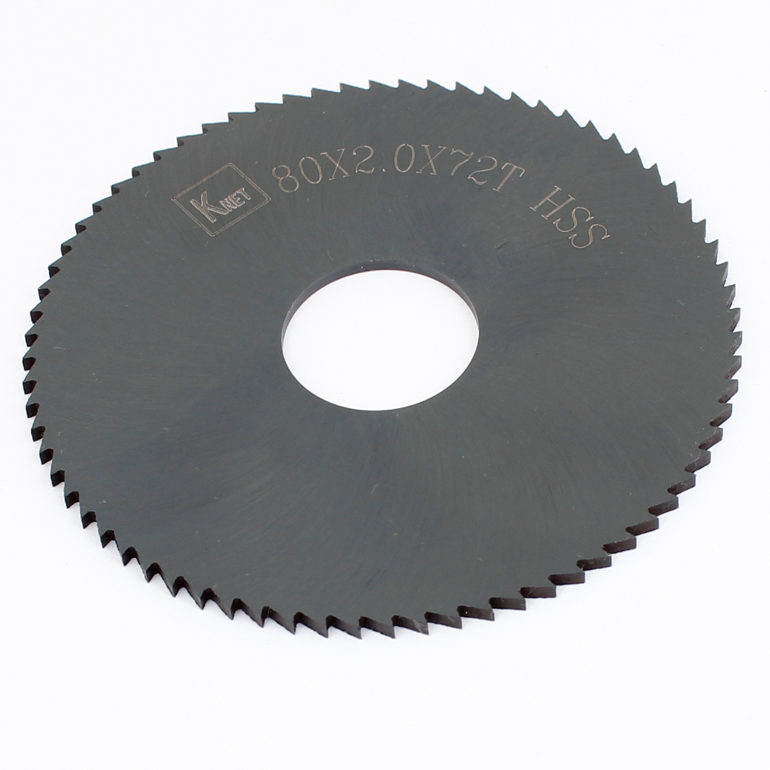 HSS 72 Teeth 80mm x 2mm x 2.2mm Slitting Saw Blade Replacement