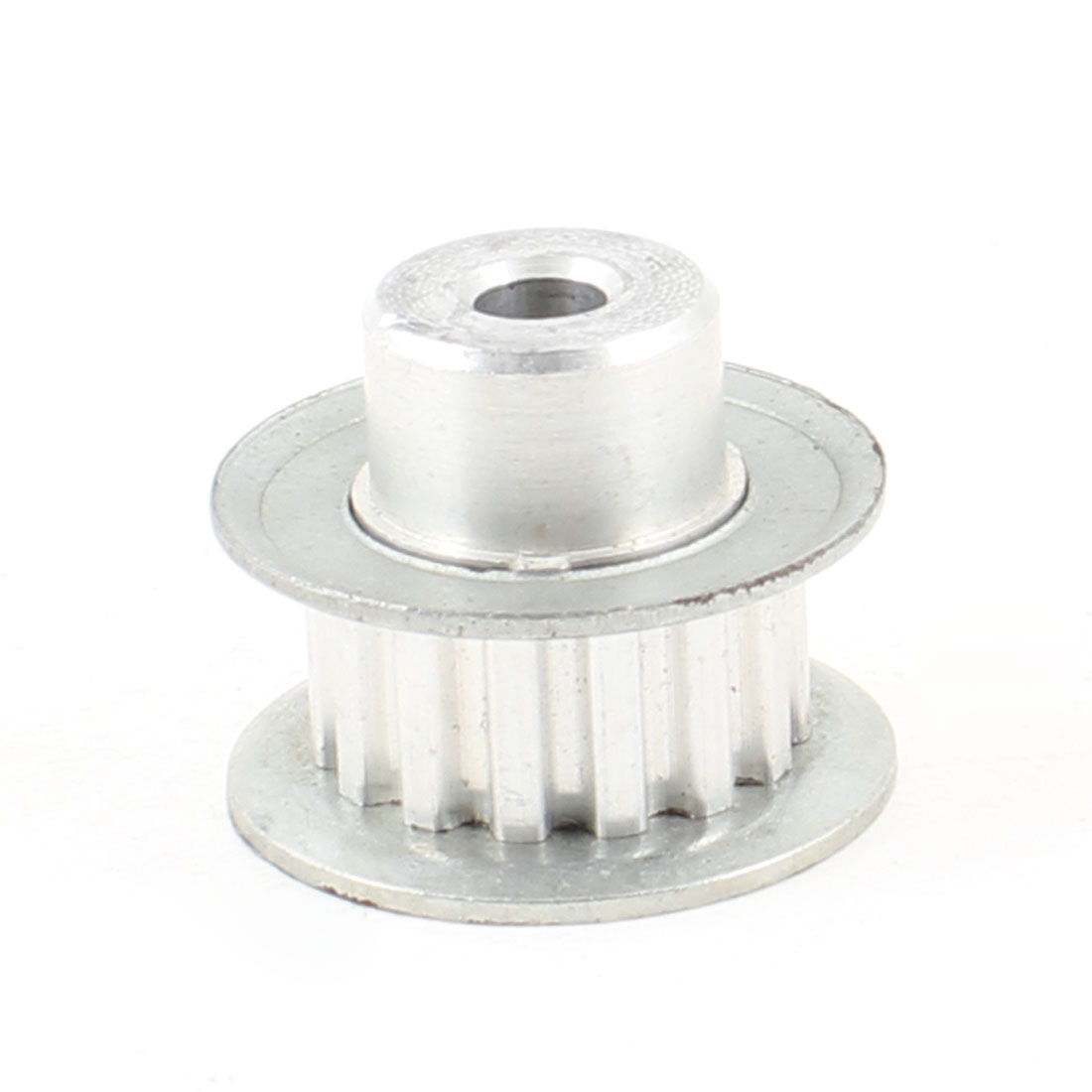 Silver Tone Aluminum Alloy XL Type 15 Teeth 6.2mm Pilot Bore Timing Pulley