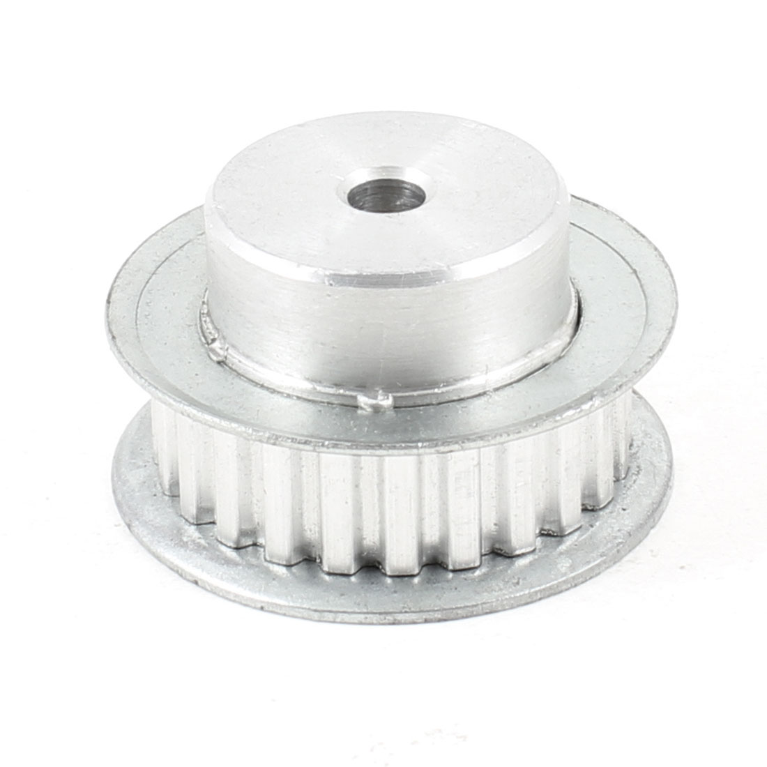 Silver Tone Aluminum Alloy XL Type 24 Teeth 6.2mm Pilot Bore Timing Pulley