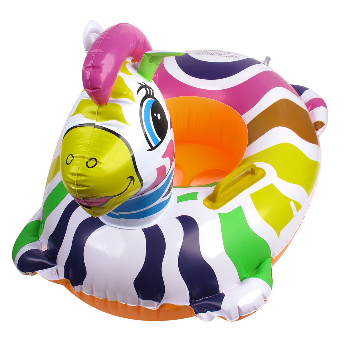 Multicolor Plastic Inflatable Swim Seat Floating Boat for Baby