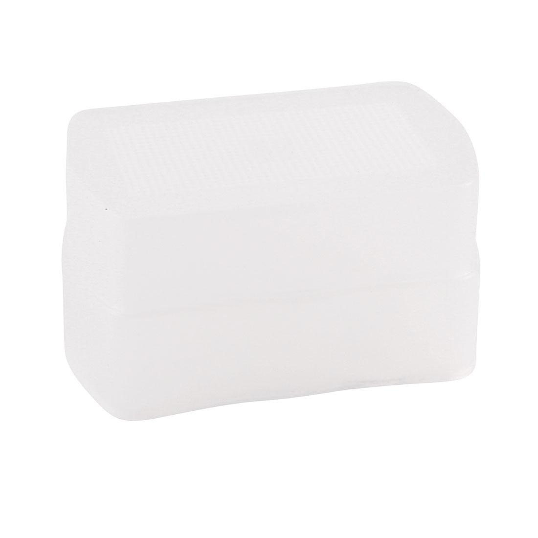 Soft Box Flash Diffuser White Bounce Cover for Canon 580EX