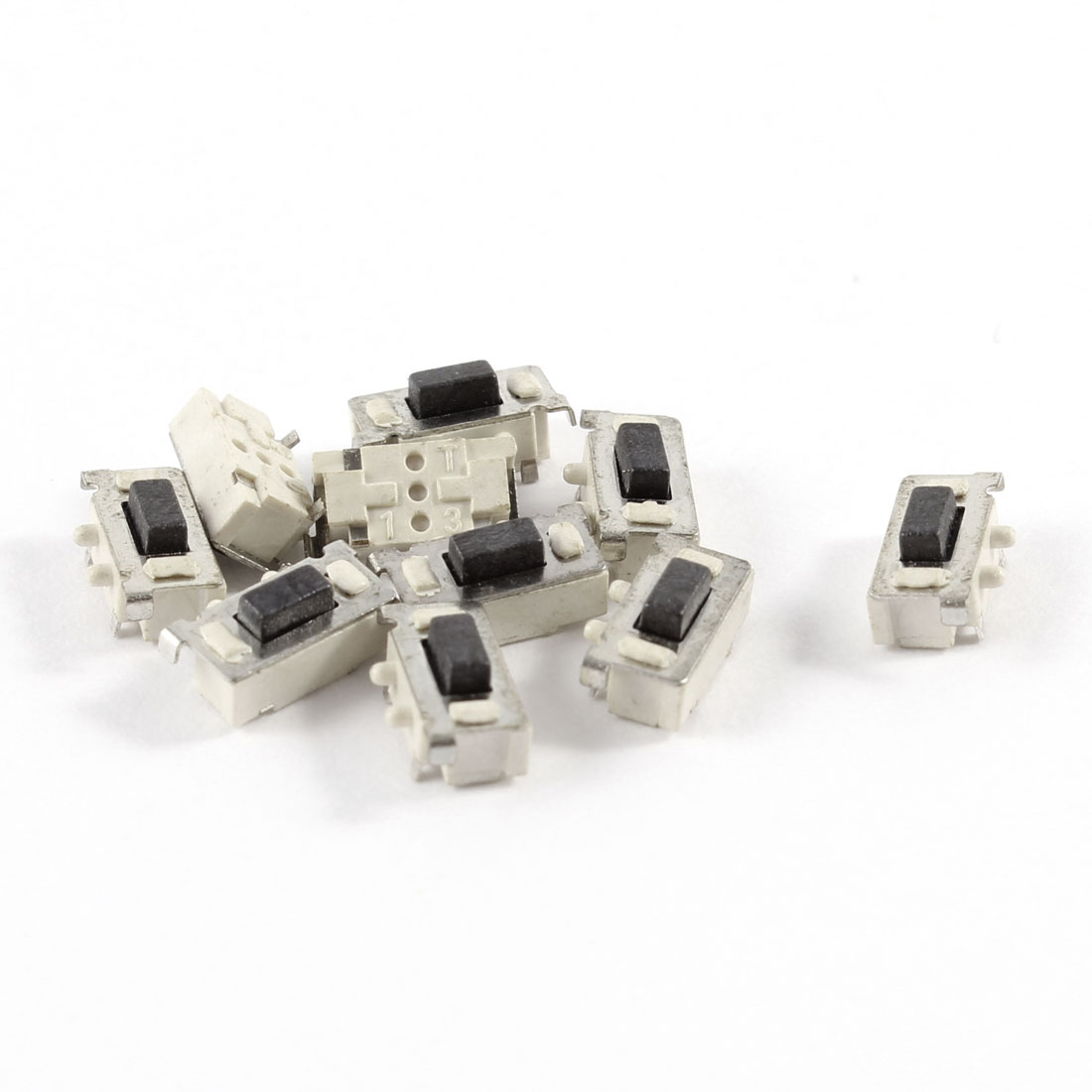 10 Pcs 6x3.5x3.5mm Momentary Push Button SMD SMT Tactile Tact Switch
