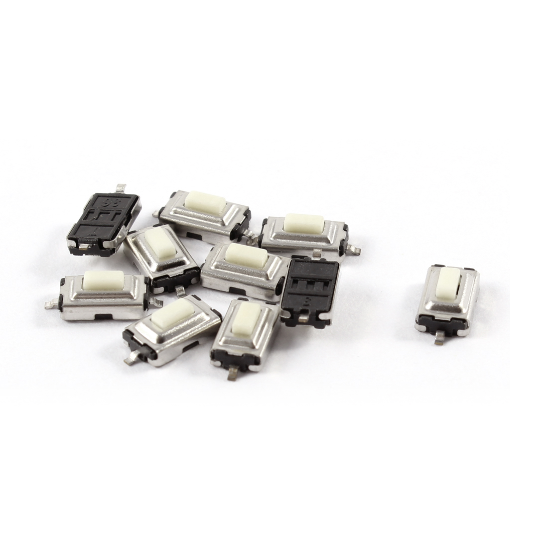 10 Pcs 6x3.5x2.5mm Momentary Push Button SMD SMT Tactile Tact Switch