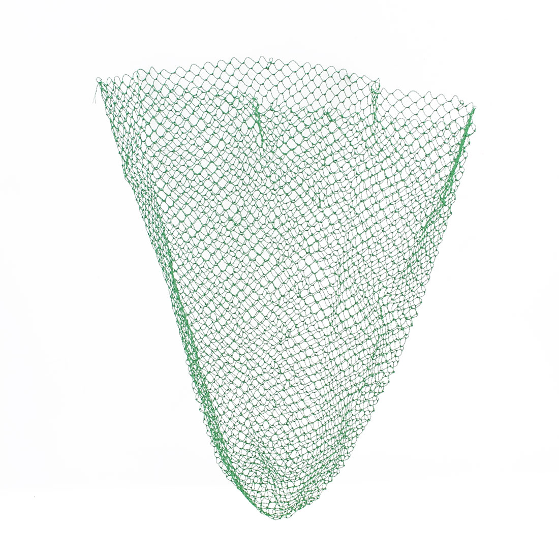 Foldable 42cm Depth Fish Lobster Crawfish Crab Fishing Net Green
