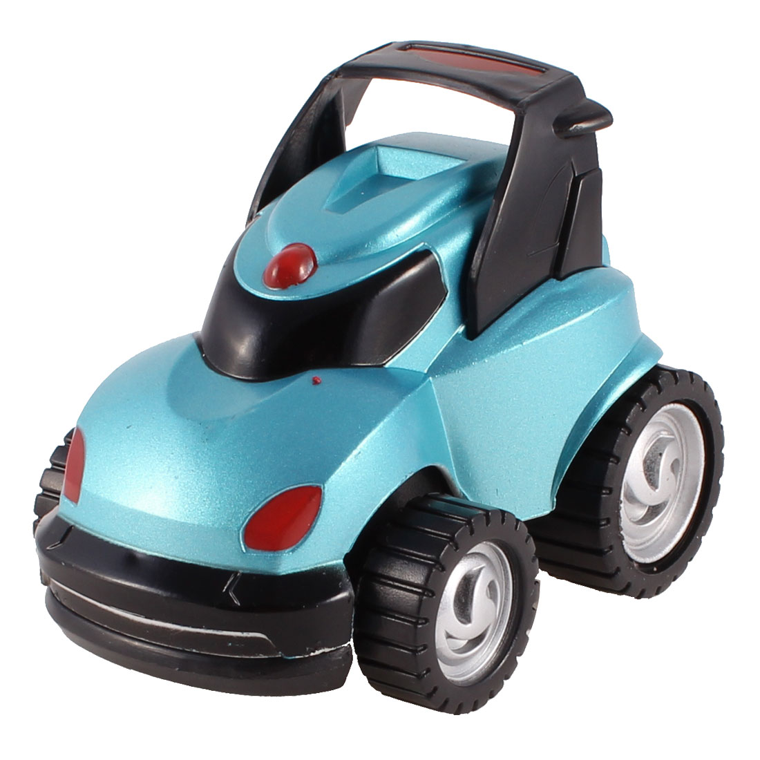 Kids Playing Colorful Plastic Cartoon Car Toy Model Gift