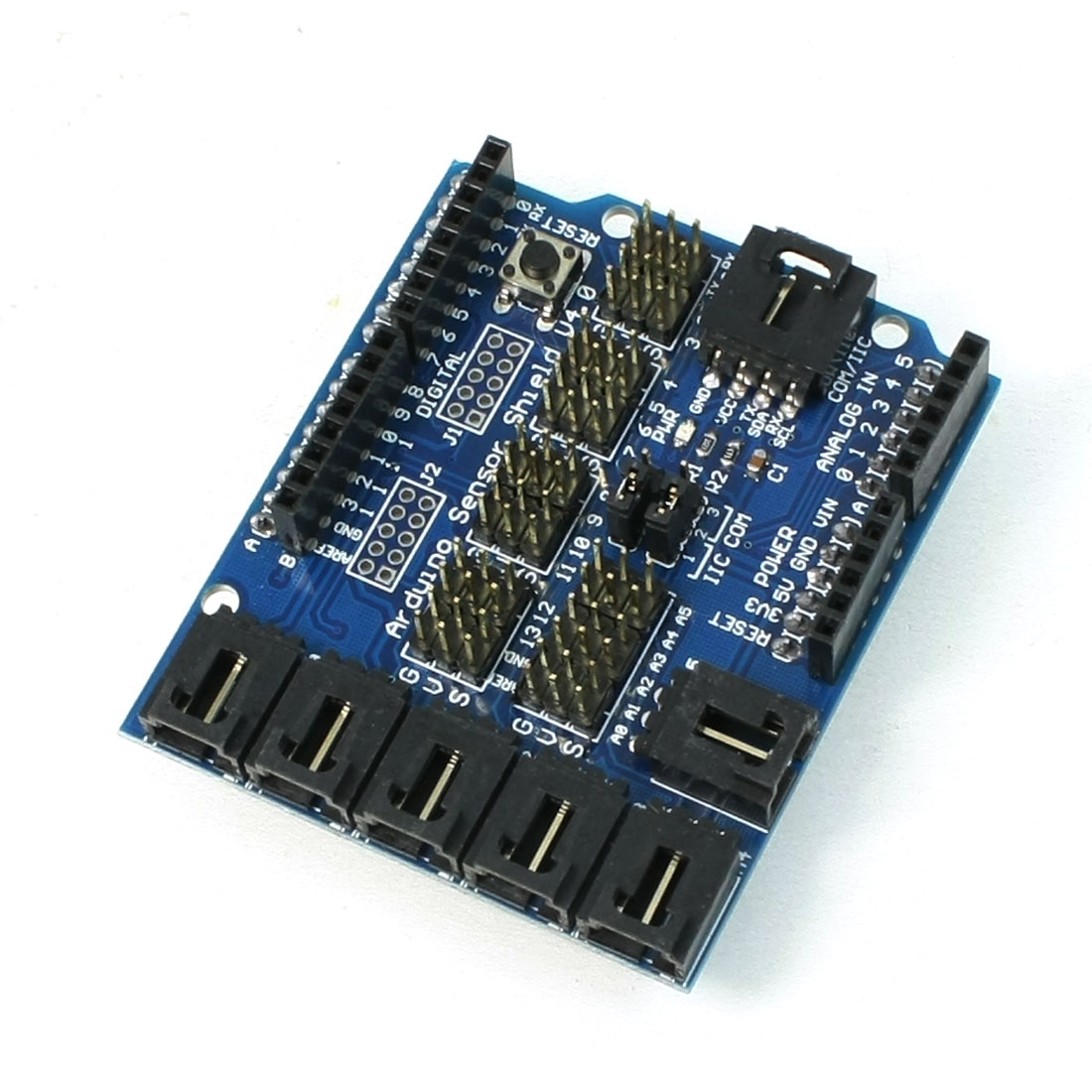 Sensor Shield V4.0 Blue Rectangle Expansion Board