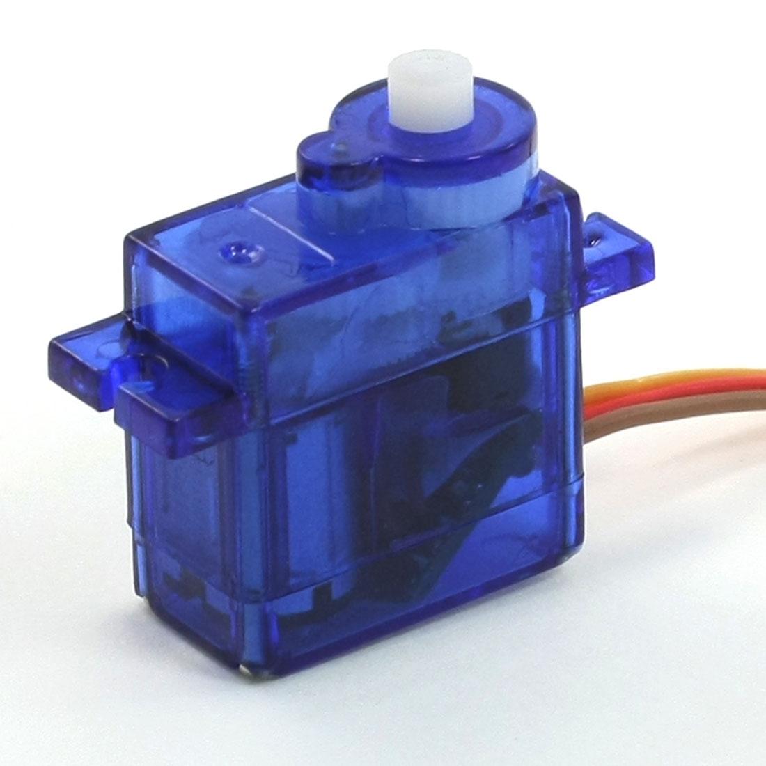 Blue Insulation Housing Mini 9G Servo Motor for RC Robot Holicopter Futaba Hitec