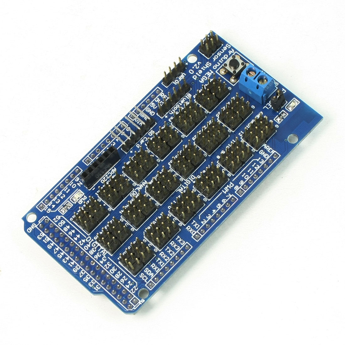 Mega Sensor Shield V2.0 Rectangle Dedicated Sensor Expansion Borad for Arduino