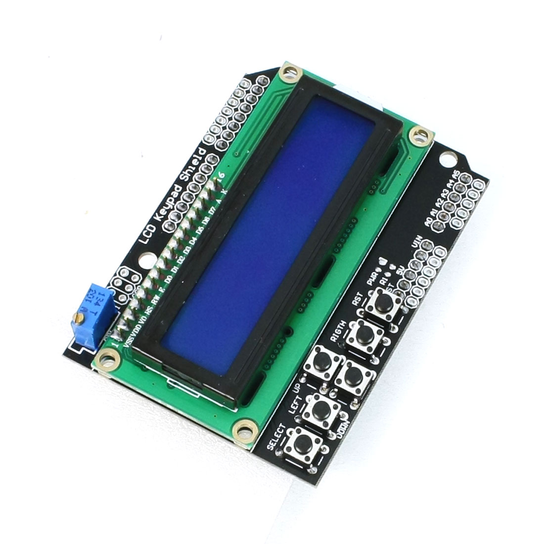 Character LCD1602 Module I/O Expansion Board Keypad Shield