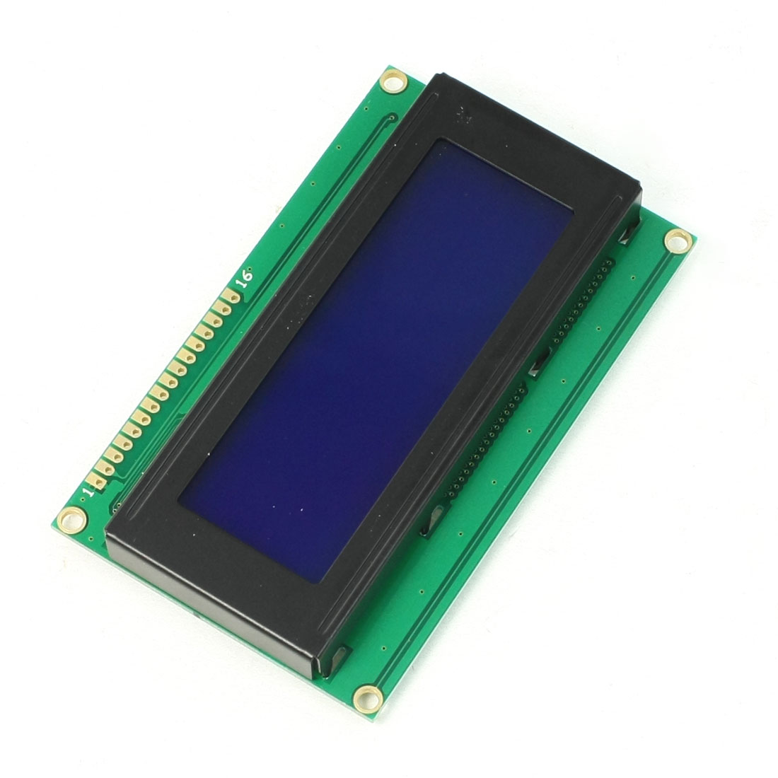 16 Pin Connector Compatible 80 Character LCD Display Module Green