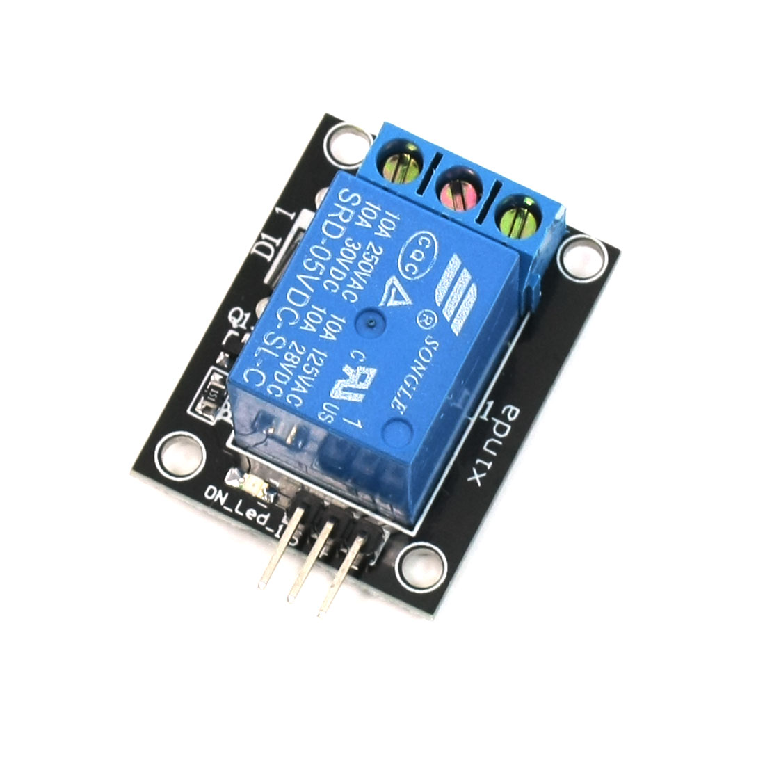 DC 5V Coil Relay Module for SCM Development/Home Appliance Control for Arduino