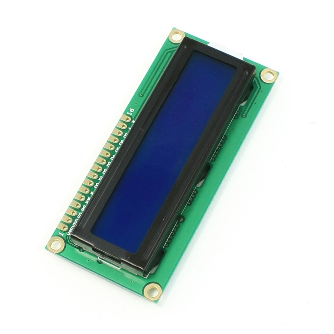 DC 5V Standard 16 x 2 Character Blue Backlight LCD Display Module Black Green