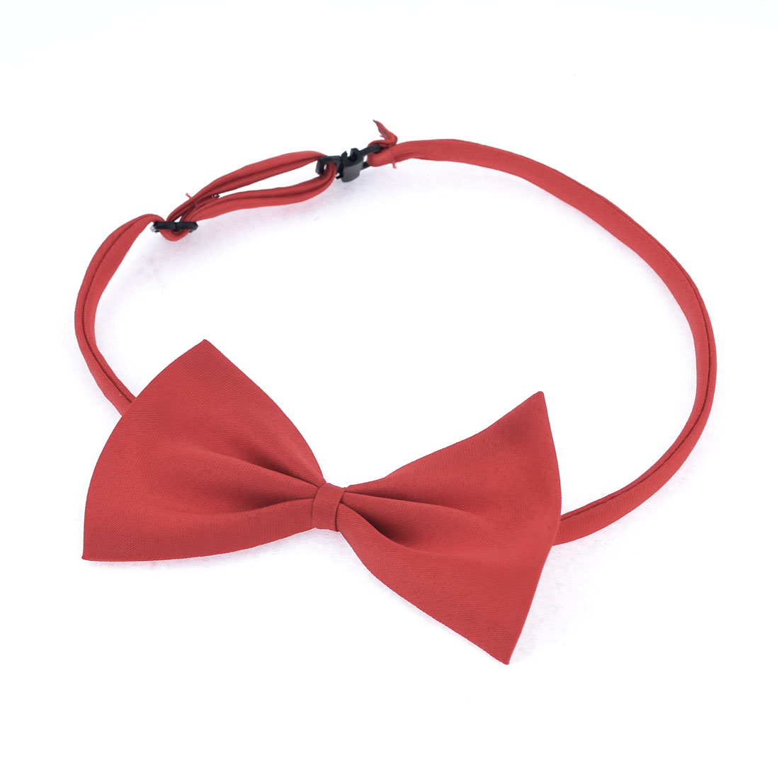 Wedding Dress Pre-tie Stylish Adjustable Neckwear Bow Tie Necktie Red