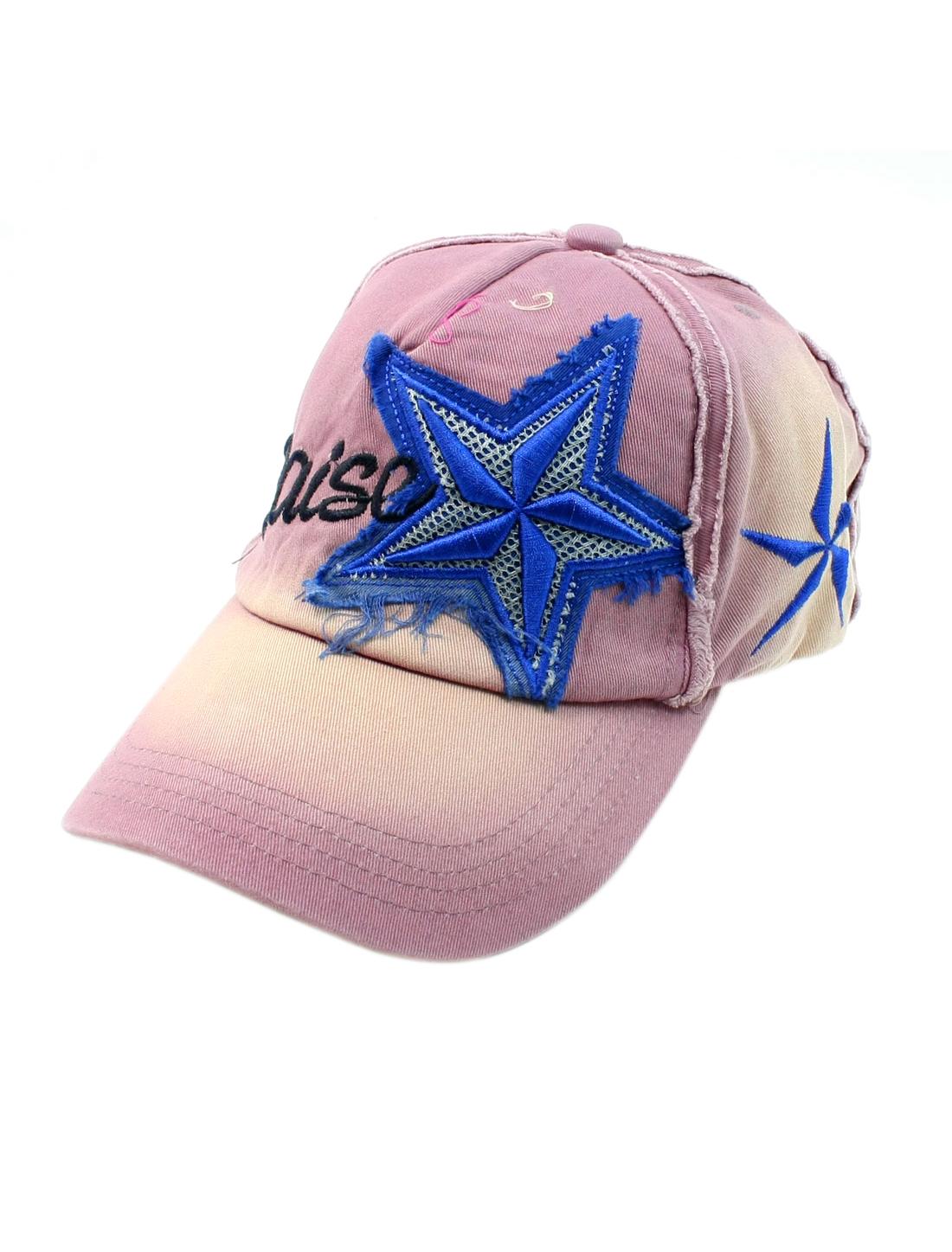 Unisex Slip Buckle Back Adjustable Fashional Casual Light Purple Baesball Cap