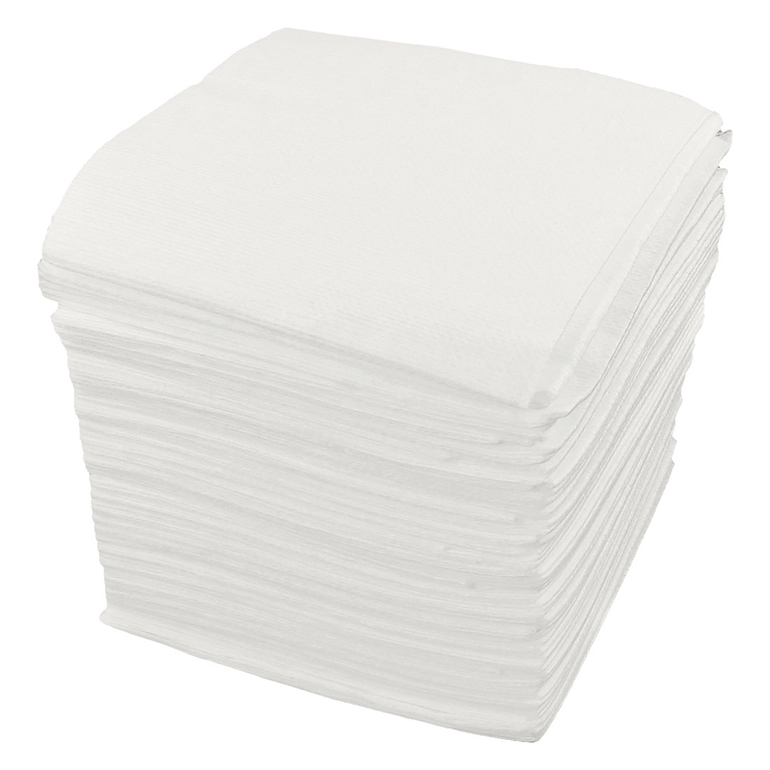 "80 Pcs Lab Dustless 1"" x 1"" Cleanroom Wiper Cloth Cleaner White"
