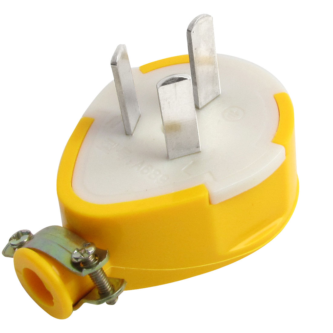 Dark Yellow Housing Power Adapter Plug Replacement 250V 13A AU Plug