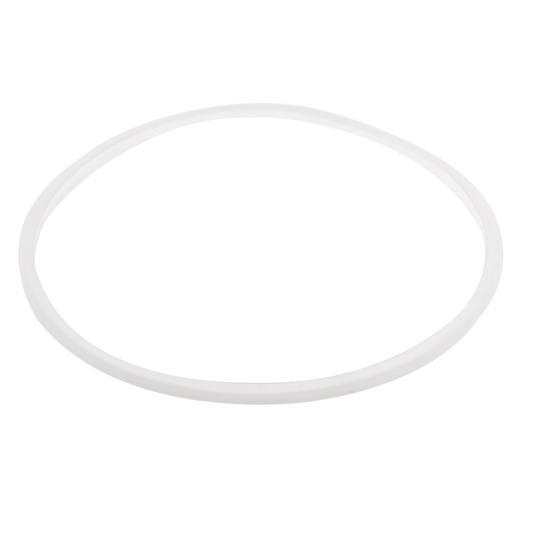 Replacing Pressure Cooker 28cm Inner Dia Sealing Ring Gasket White