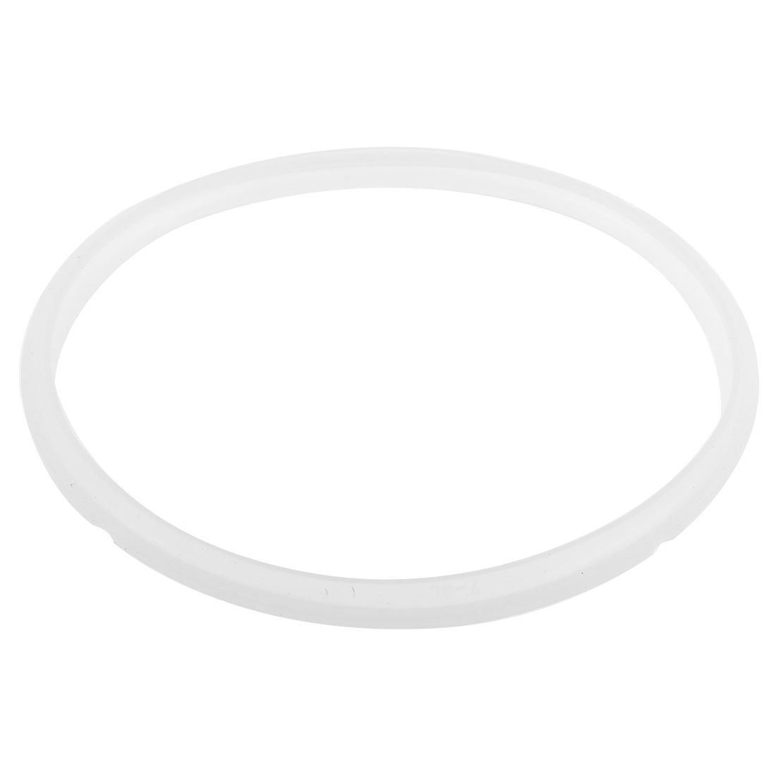 7-8L Pressure Cooker 24.5cm Dia Silicone Gasket Sealing Ring White