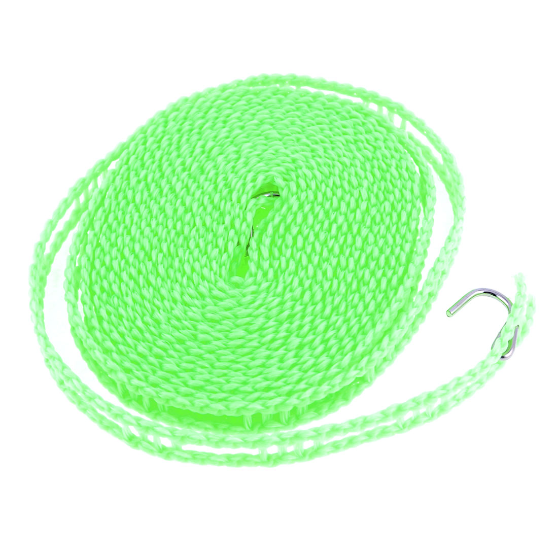 Outdoor 5M Nylon Clothesline Windproof Rope String Washing Line Green