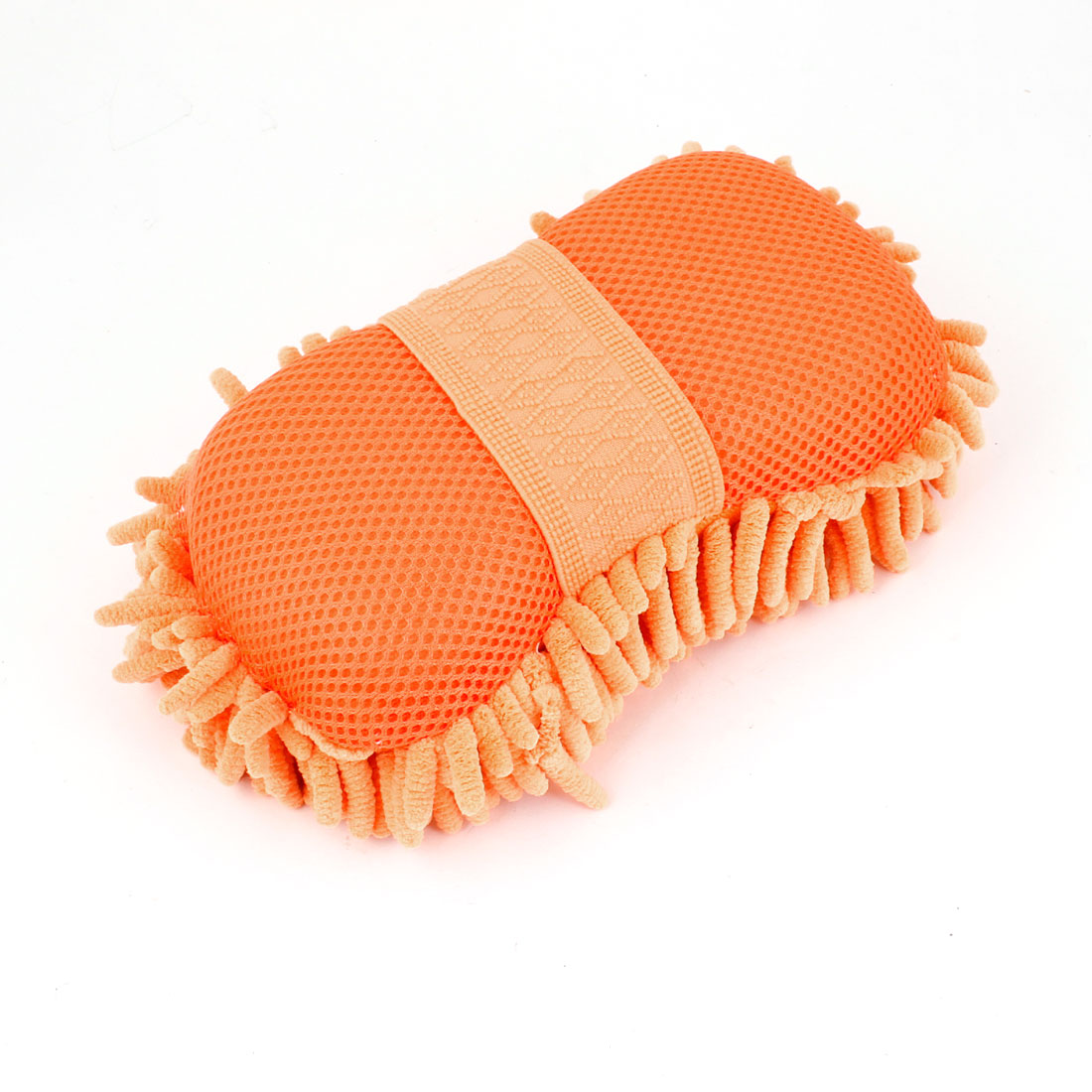 Vehicle Car Orange Chenille Mocrofiber Cleaning Washing Tool
