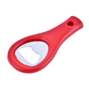 Household Red Plastic Handle Wine Beer Bottle Opener Handy Tool