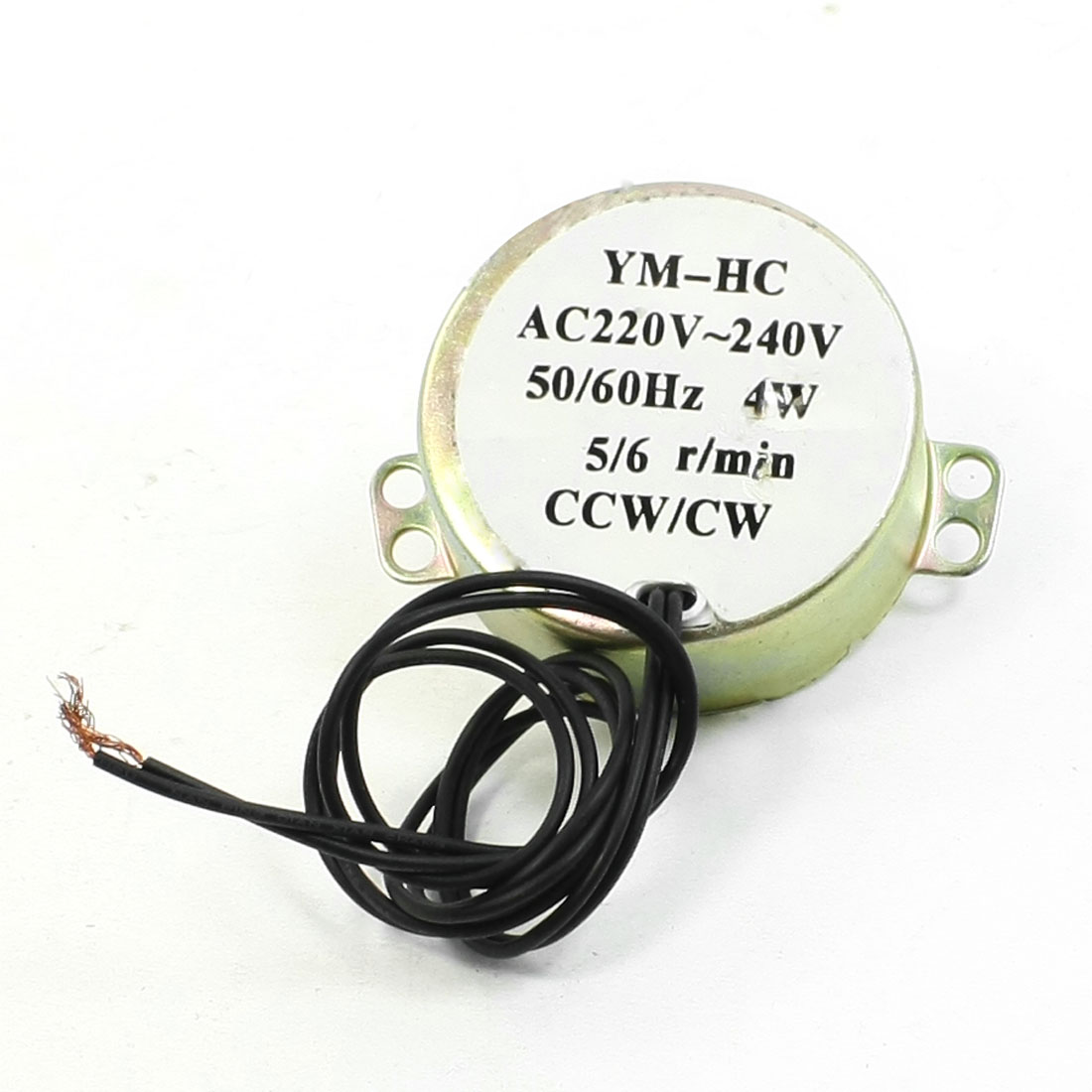 AC220V-240V 50/60Hz 4W 5/6 r/min Microwave Oven Synchronous Motor