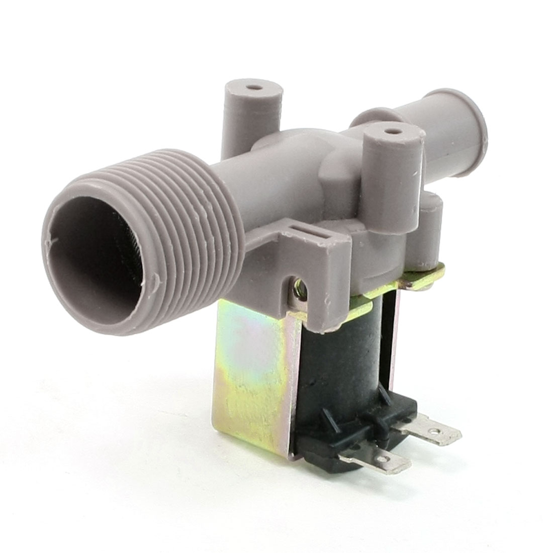 AC 220V 26mm Thread Dia Water Inlet Solenoid Valve for Washing Machine