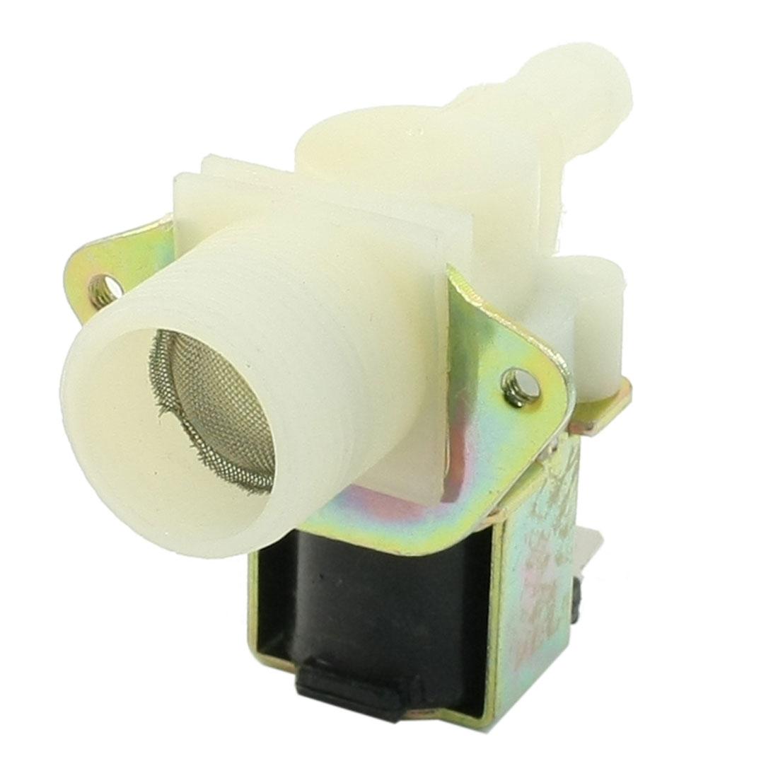 """AC 220V 50Hz 2 Terminals 3/4""""PT Thread Water Inlet Valve for Washing Machine Washer"""