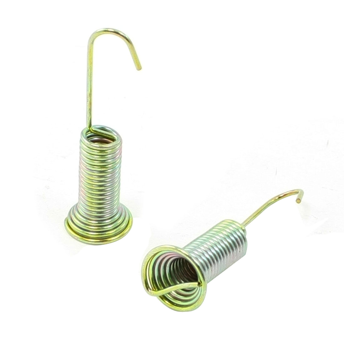 "2 x Washing Machine Water Drain Tap Tension Spring 2"" Long 0.6"" Dia"